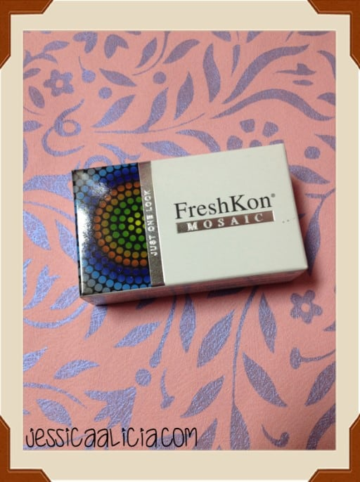 Review : FreshKon Mosaic - Urban Grey Softlens