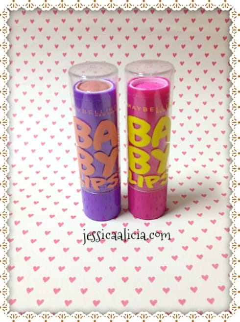 Review & Swatch : Maybelline Baby Lips #Peach Kiss & #Pink Punch