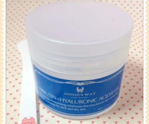Review : Annie's Way Arbutin + Hyaluronic Acid Brighting Jelly Mask
