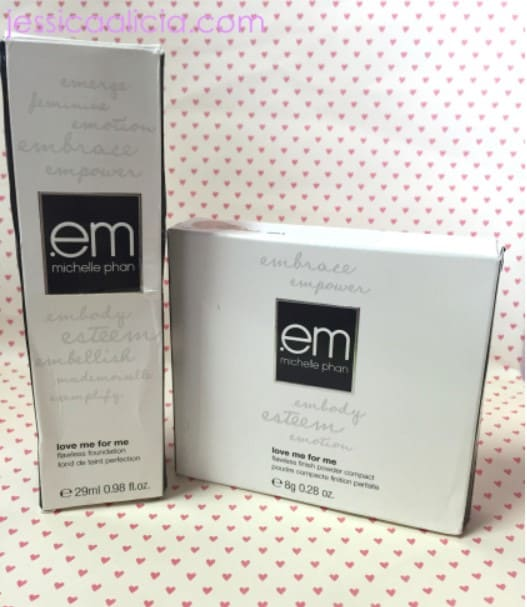 Review : EM Michelle Phan - Love Me For Me Foundation and Powder