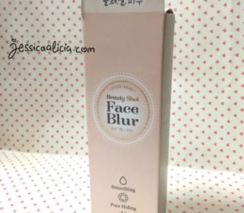 Review : Etude House Beauty Shot Face Blur by Jessica Alicia