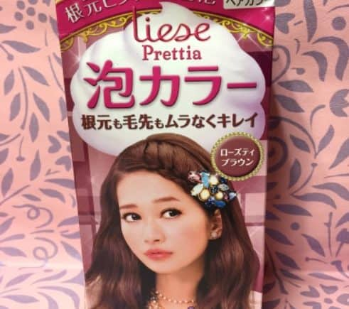 Review : Liese Prettia Creamy Bubble Hair Color - Rose Tea Brown by Jessica Alicia
