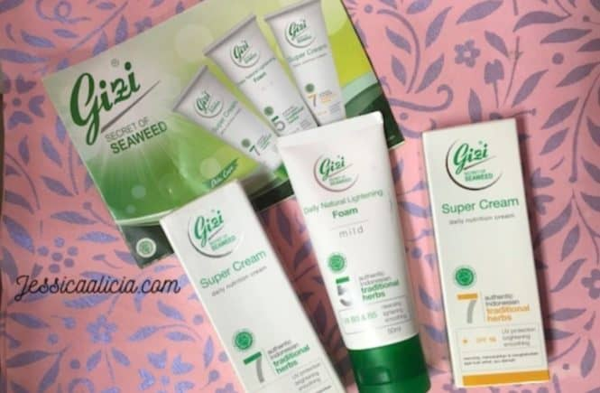 Review : Gizi Super Cream (NEW), Perawatan Kulit Wajah Alami