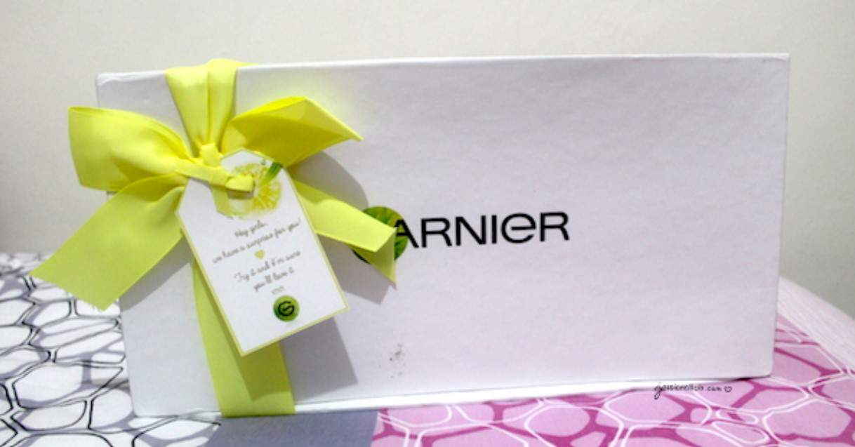 Unboxing: GARNIER Light Complete White Speed series by Jessica Alicia