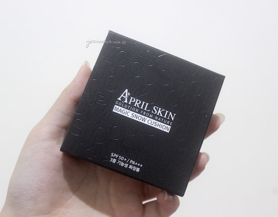 Review : April Skin Magic Snow Cushion #23 Natural Beige by Jessica Alicia