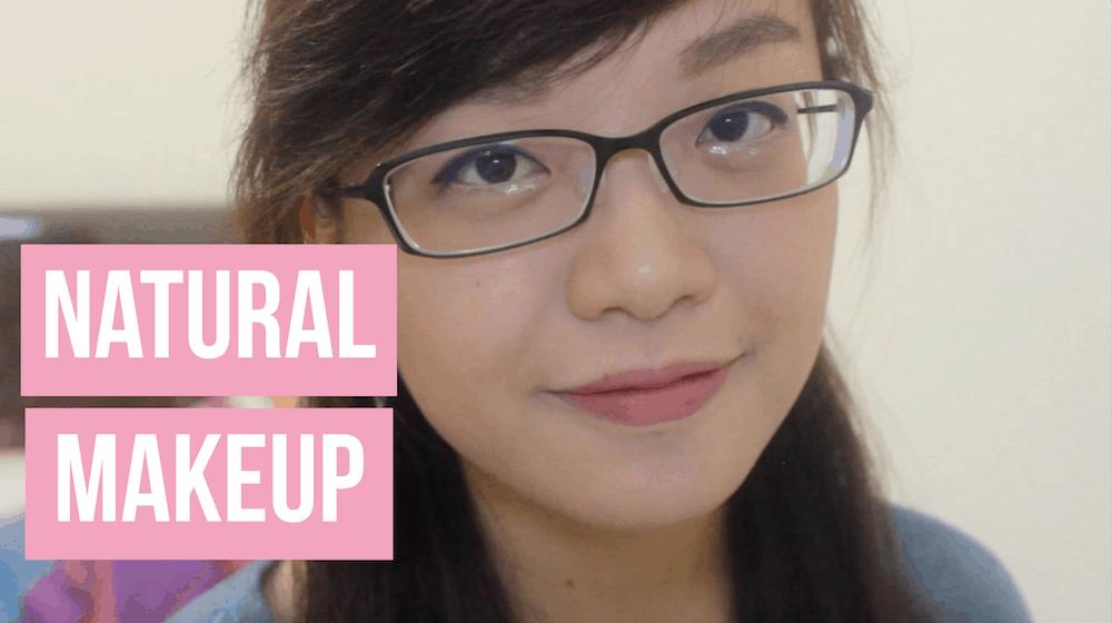 Tutorial Makeup Natural untuk sehari-hari [YOUTUBE]