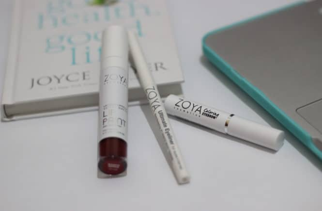 [Review] Zoya Cosmetics - Lip Paint, Ultimate Eyeliner, Coloring Eyebrow by Jessica Alicia