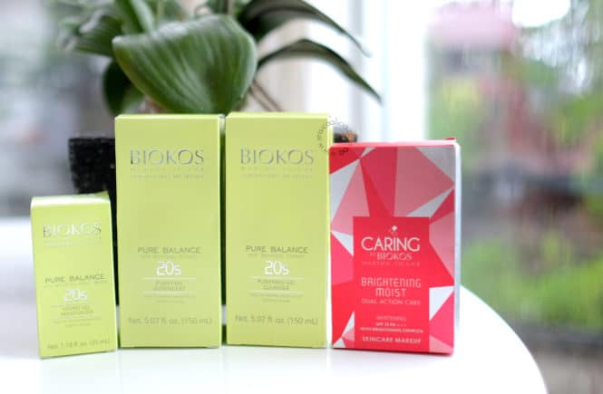 [Review] Biokos Pure Balance 20s Series & Caring Brightening Moist Dual Action Cake by Jessica Alicia