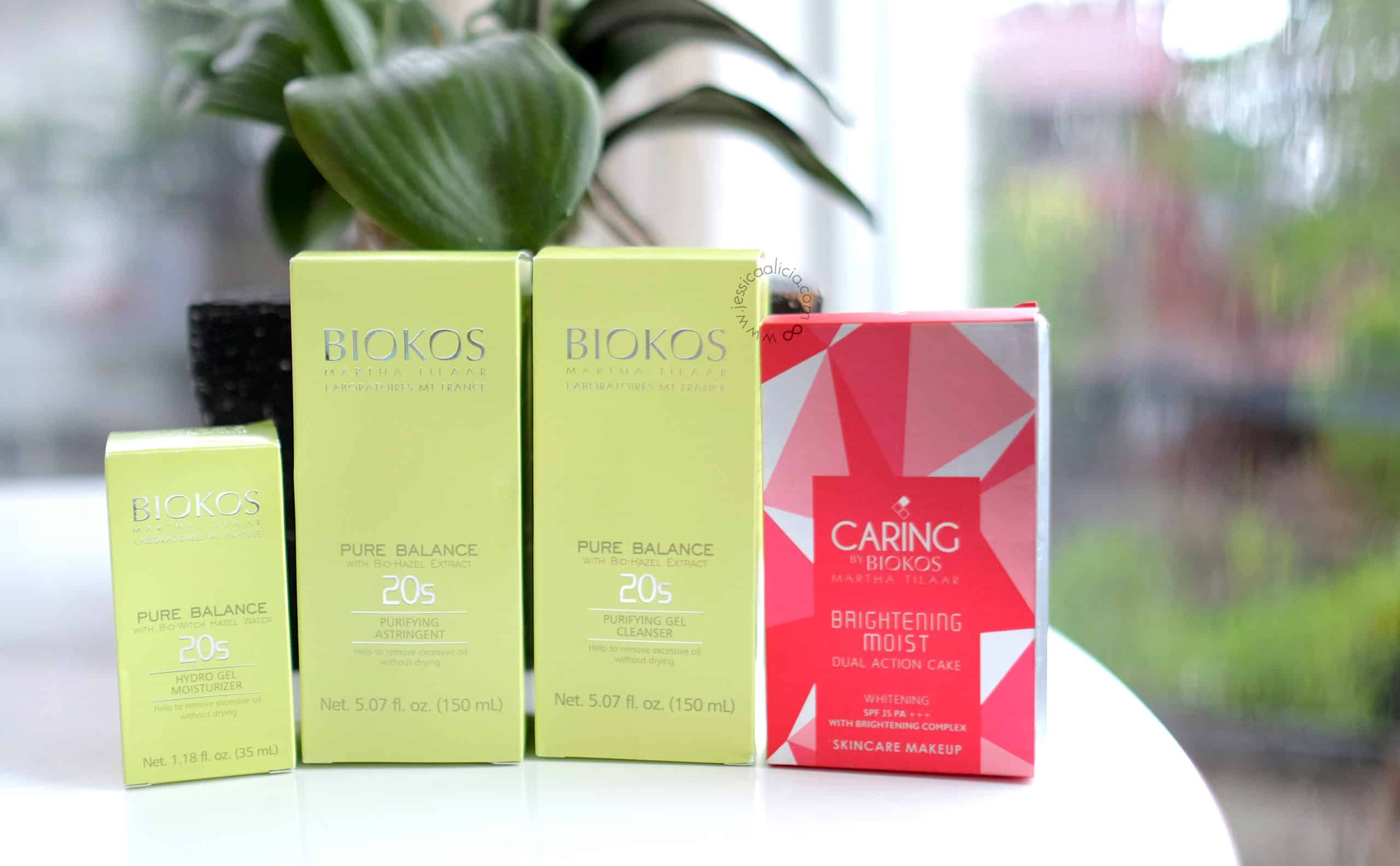 [Review] Biokos Pure Balance 20s Series & Caring Brightening Moist Dual Action Cake