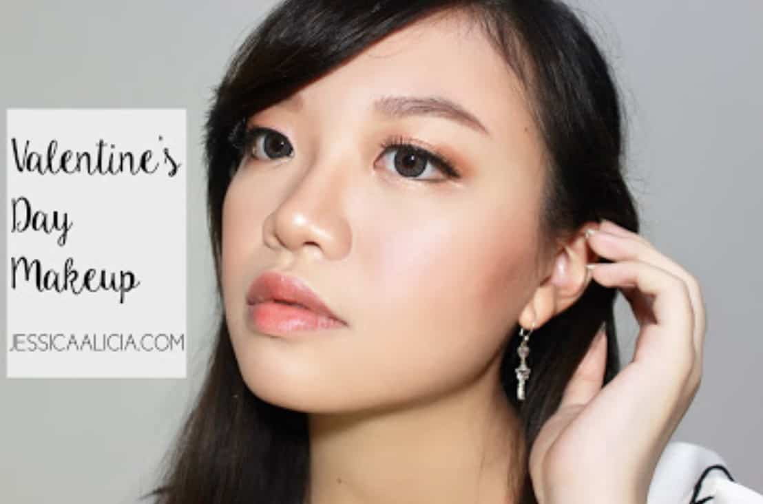TUTORIAL MAKEUP UNTUK VALENTINE'S DAY [YOUTUBE]