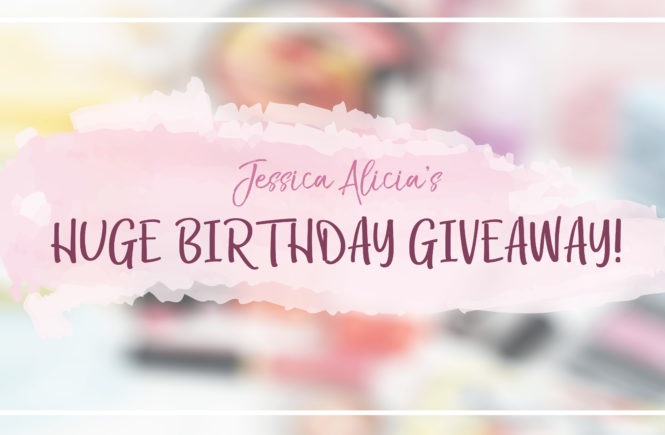 (CLOSED) JESSICA ALICIA'S HUGE BIRTHDAY GIVEAWAY! 5 WINNERS