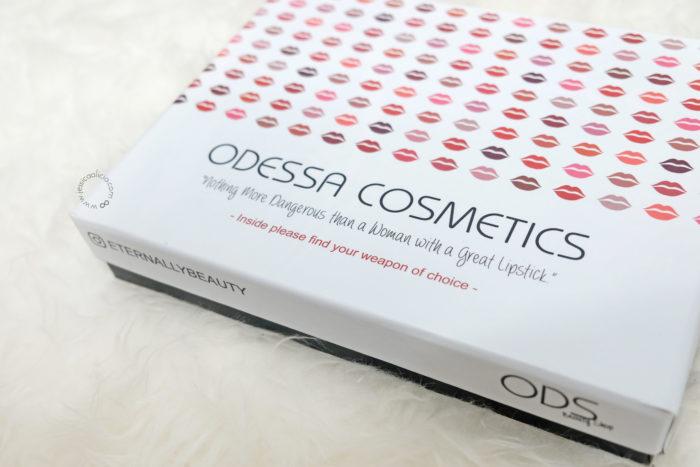 Review : ODESSA COSMETICS Matte Lipsticks (All 12 Shades)