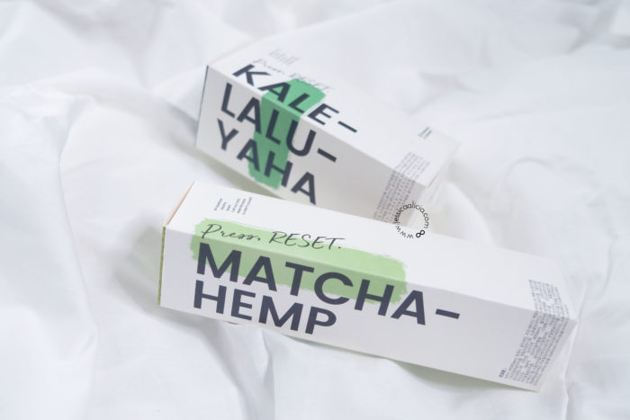 Review : KRAVE BEAUTY Matcha Hemp Hydrating Cleanser & Kale-Lalu-yAHA
