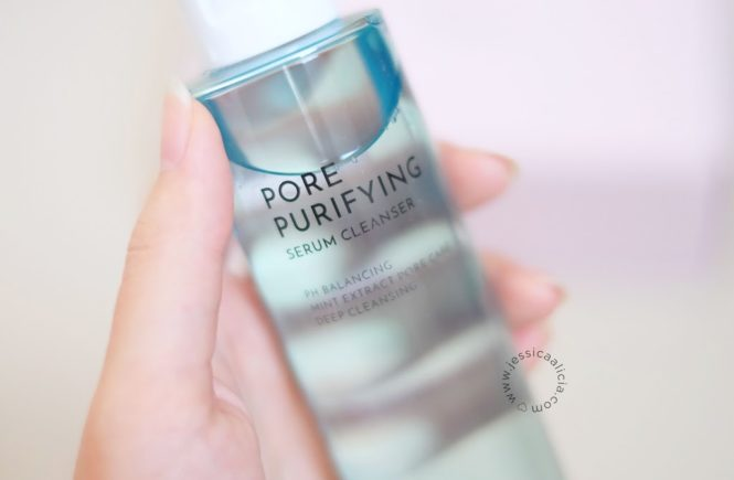Review : Althea Pore Purifying Serum Cleanser