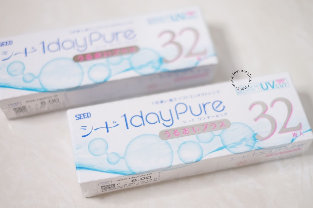 Review : SEED Contact Lens 1dayPure
