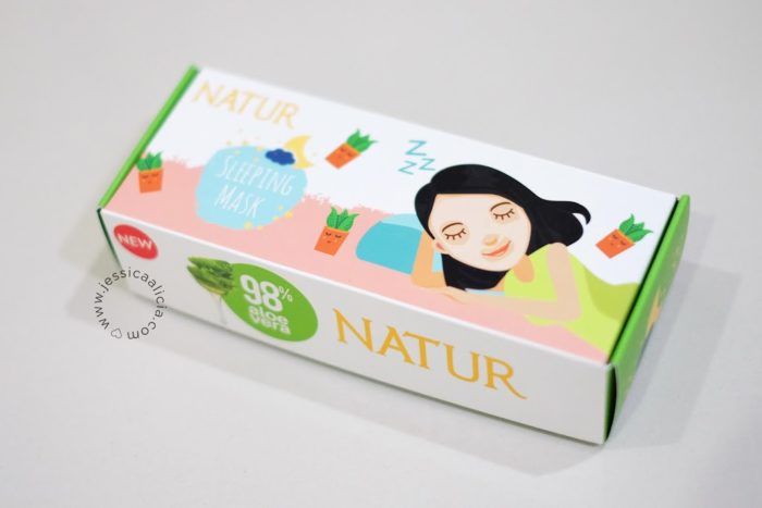 Review : Natur Aloe Vera Sleeping Mask