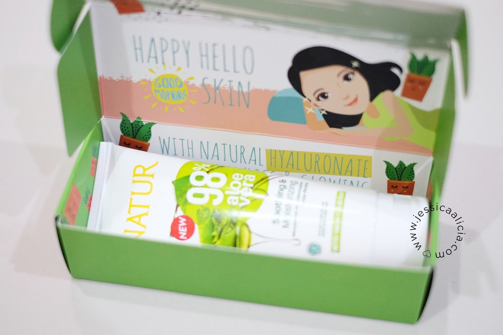 Review : Natur Aloe Vera Sleeping Mask by Jessica Alicia