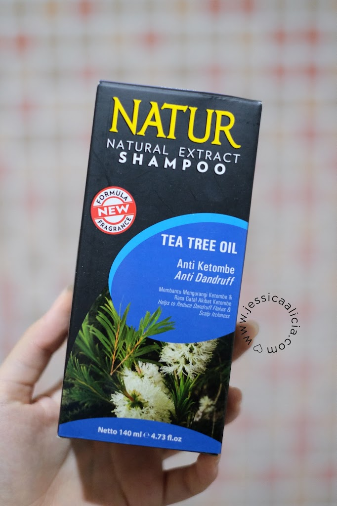 Review : Natur Shampoo Tea Tree Oil