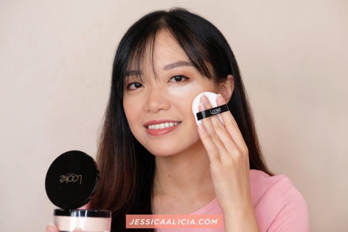 [REVIEW] Looke Cosmetics Holy Smooth & Blur Loose Powder #Freya