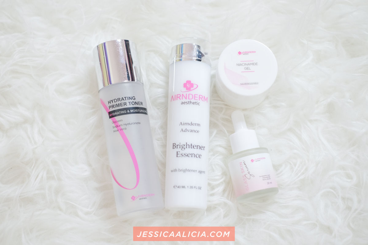 Review Skincare Airnderm Aesthetic (Toner, Essence, Serum, Gel)