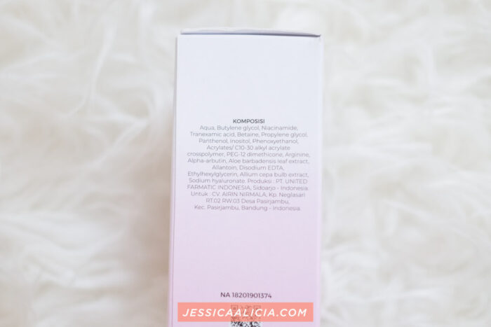 Airnderm Aesthetic Skincare Toner Essence Serum Gel Review by Jessica Alicia